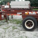 20' Slider Chassis Stk# 300156-1