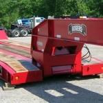 50 ton tri axle low boy
