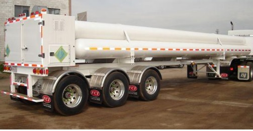 COMPRESSED GAS TUBE TRAILER 3,000-5,000 PSI