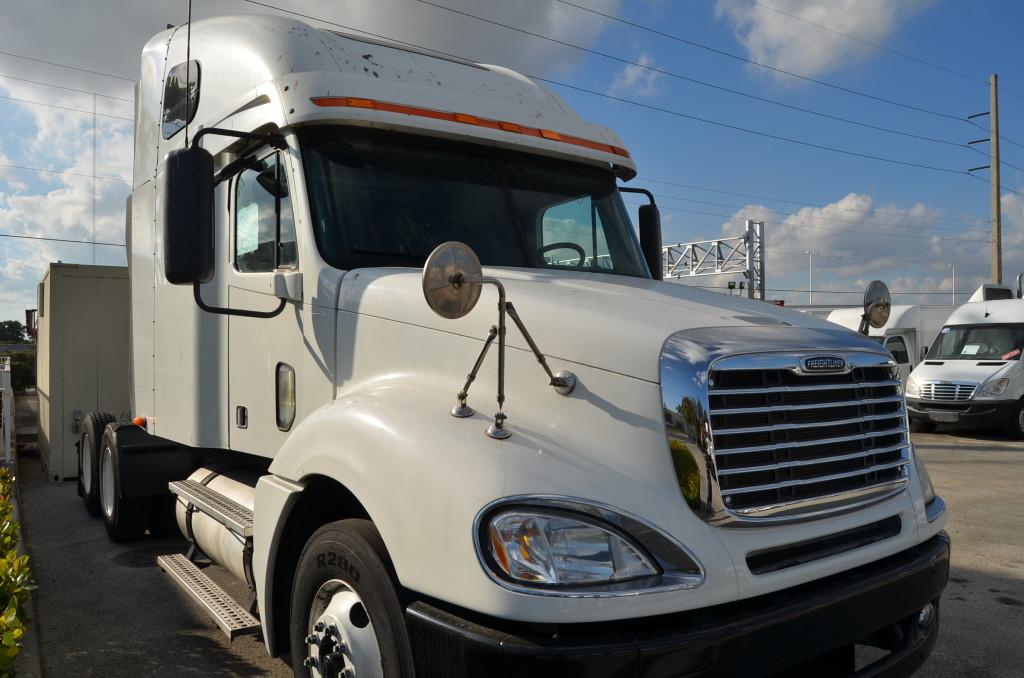 tandem axle sleeper cabs semi tractor export specialist