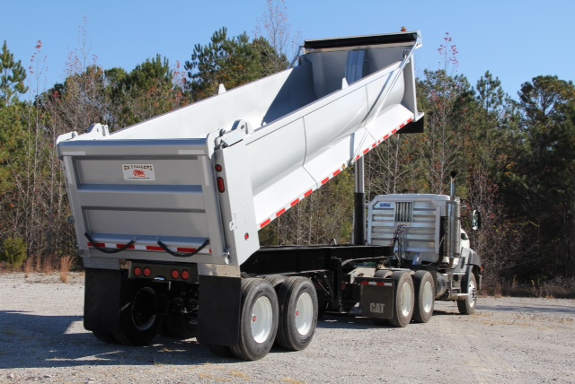 End Dump Truck >> Used Specialty Trailers - Export Specialist