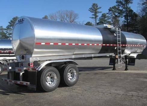 asphalt heated tanker