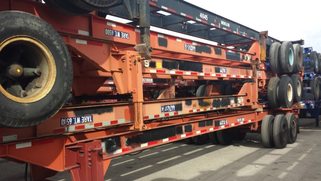 Used Container Chassis Export Specialist
