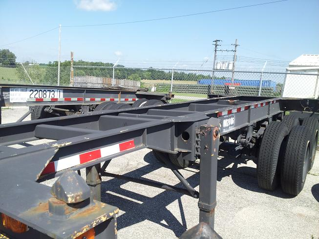 Container Chassis Handle : Used container chassis export specialist